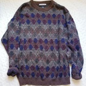 Vintage 90s grandpa sweater boho oversized travel